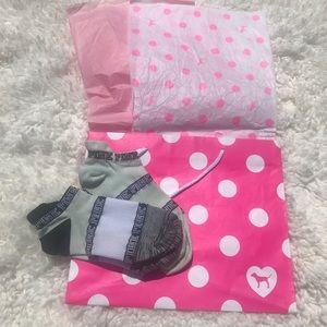 Victoria's Secret PINK 2 pair socks